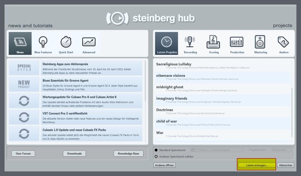 Steinberg Hub